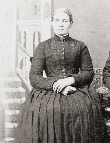 2nd great-grandmother Mary Smith 1842-1895