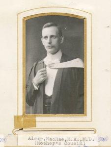 Alexander MacRae MA MD Ophthalmologist