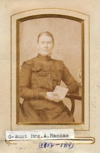 Mrs Annie MacRae