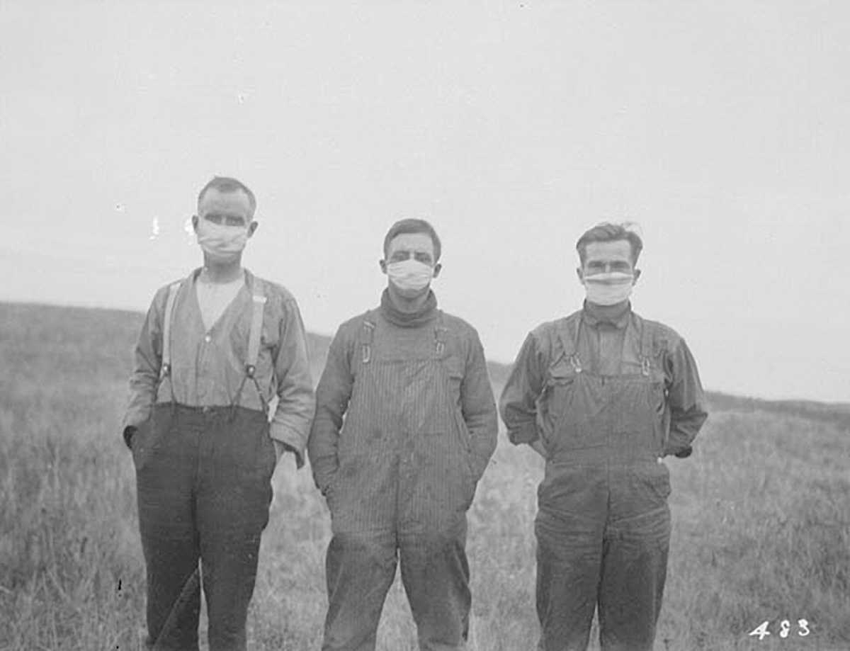 Spanish Flu Alberta Field 1918