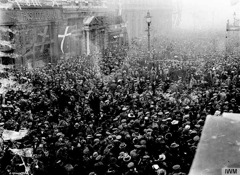 Victory Celebrations in Britain after the First World War