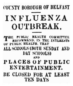 Belfast flu 1918 - clipped image